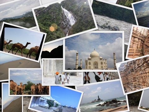 Luxury International  Holiday Tour Packages to kerala,north india, South India.